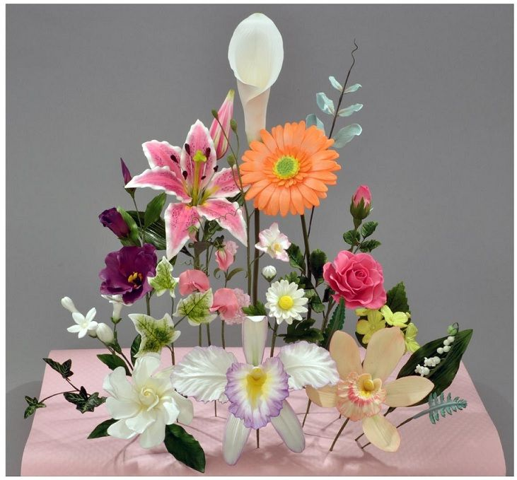 5 day Ultimate Gumpaste Flowers 2