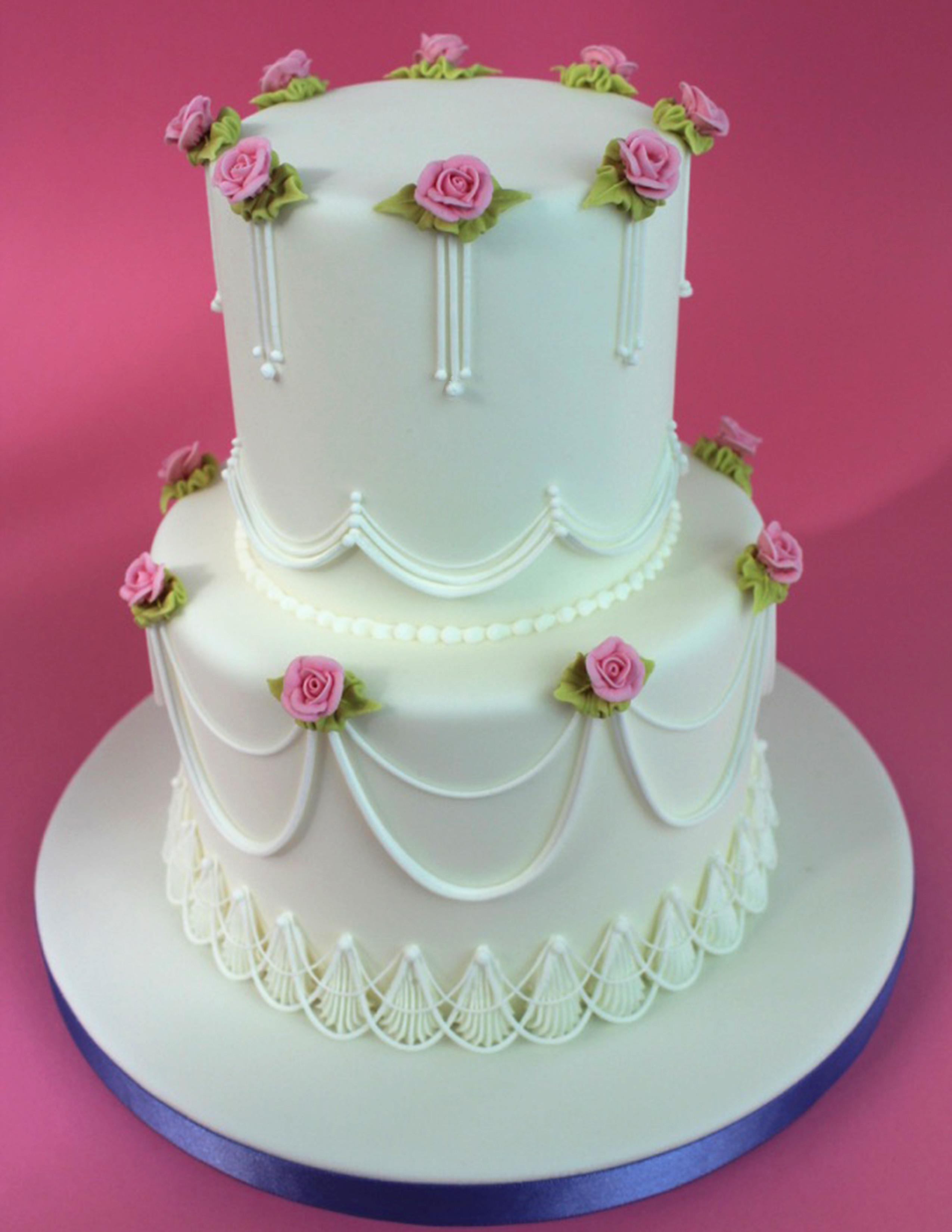 Dainty Little Celebration Cake V2