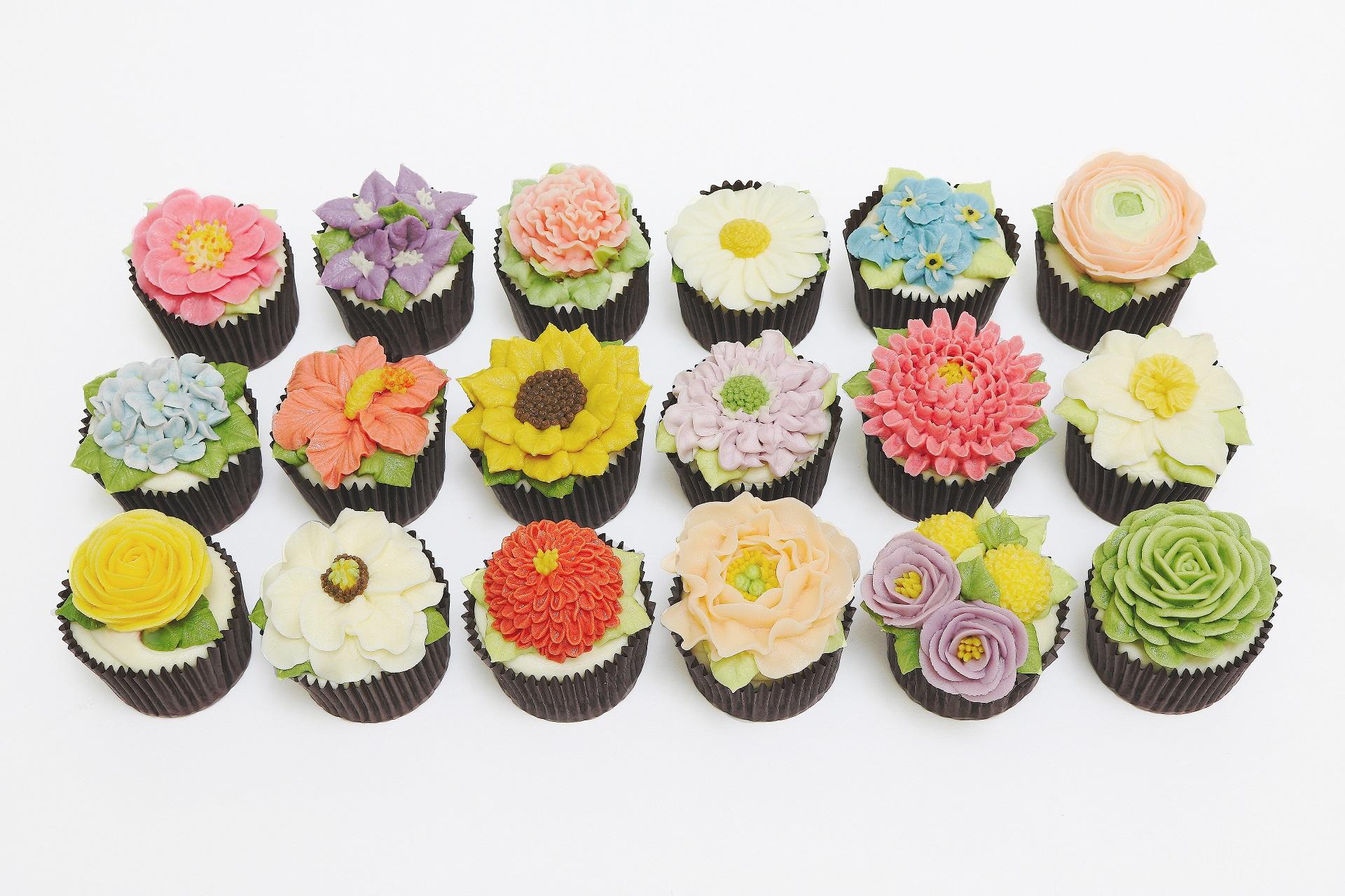 Floral Cupcakes Class 2