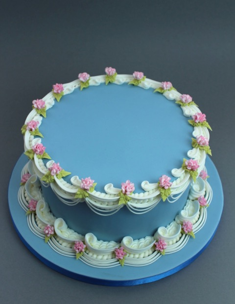 Pretty Little Carnations Royal Icing V2