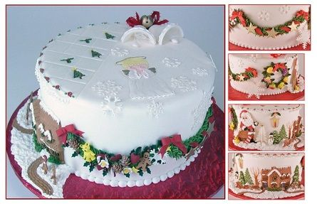 Rolled Fondant Holiday