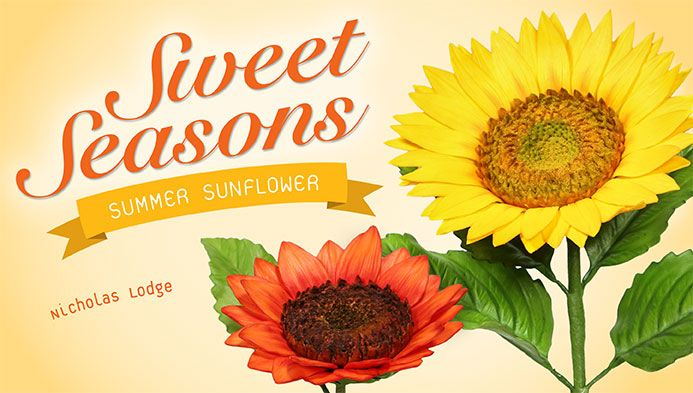 Sweet Seasons - Summer Sunflower